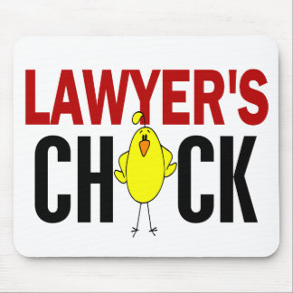 Lawyer's Chick Mousepad