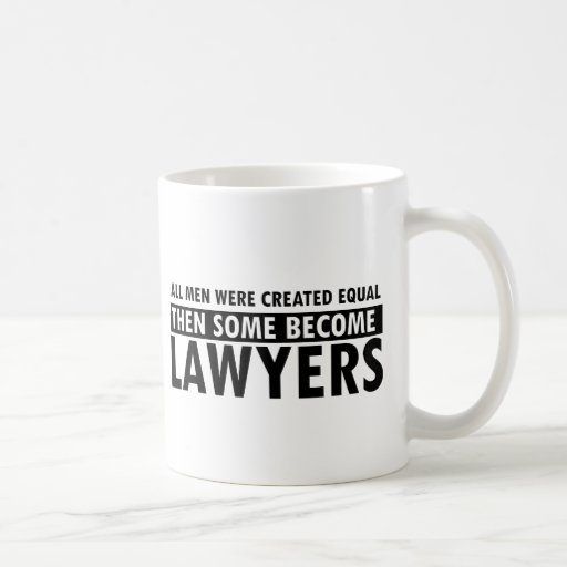 Lawyers designs mugs