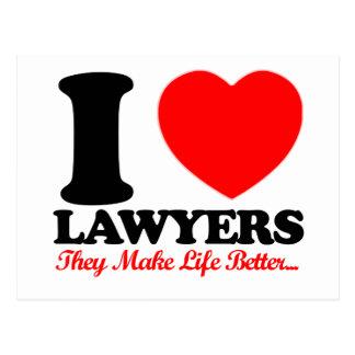 lawyers designs postcard