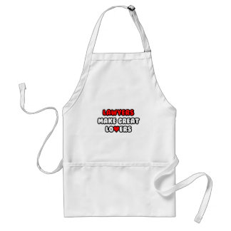 Lawyers Make Great Lovers Standard Apron