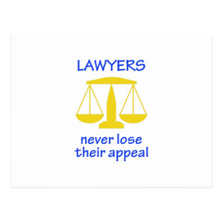 Lawyers Never Lose Their Postcard