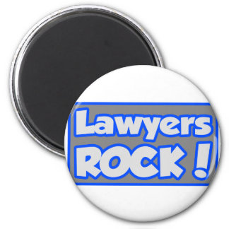 Lawyers Rock! Fridge Magnets