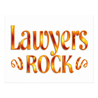 Lawyers Rock Post Cards