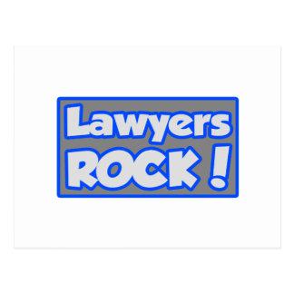 Lawyers Rock! Postcard