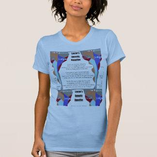 Lawyer's Romantic Deposition 3D blue shirt