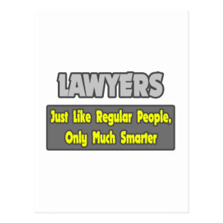 Lawyers...Smarter Post Card
