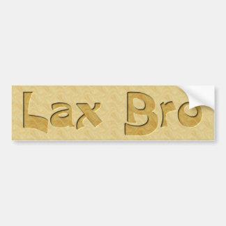 Lax Bro Bumper Sticker
