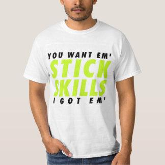 lax is life - stick skills T-Shirt