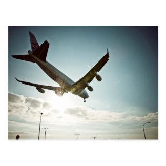 LAX Landing 1 Postcard