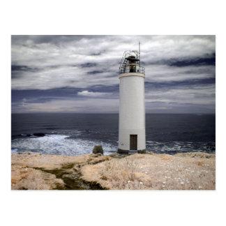 Laxe Lighthouse   Galicia, Spain Postcard
