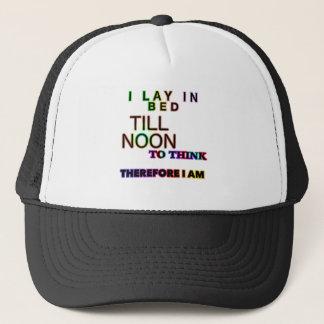 LAY IN BED TRUCKER HAT