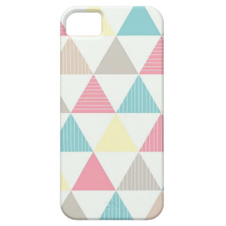 Layer for cellular with colored geometric figure iPhone 5 case