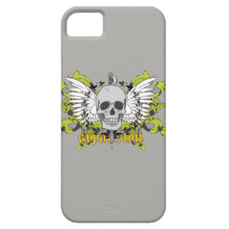 Layer for cellular with subject of a skull iPhone 5 cover
