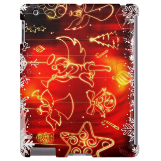 """Layer for iPad 2/3/4 """"Angels of Christmas """""""
