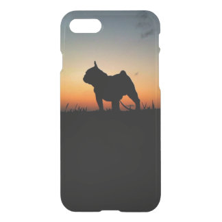 """Layer for iPhone 7 """"Buldog in the Put-pity-sun """" iPhone 7 Case"""