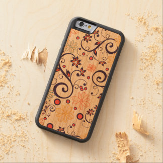 Layer For Iphone Madeira Flores of May Carved Cherry iPhone 6 Bumper Case