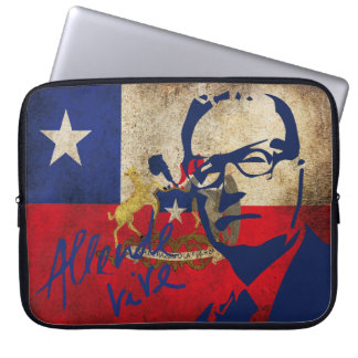 Layer for Lap Top- Allende lives! Laptop Sleeve
