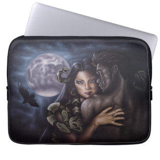 Layer for laptop the Witchcraft of Jellyfish Laptop Sleeve
