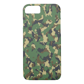 Layer green Camouflage iPhone 8/7 Case