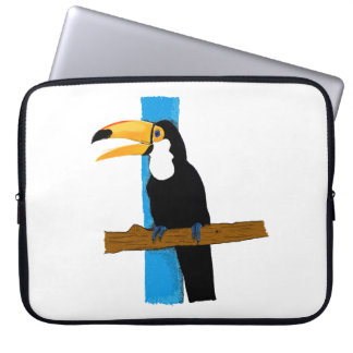 Layer Happy Toucan Laptop Sleeve