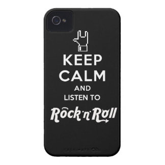 """Layer iPhone4 light Keep Calm… Rock """"n"""" Roll iPhone 4 Covers"""