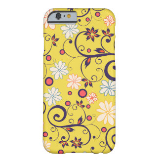 Layer Iphone 6 Turns yellow Flowers of May Barely There iPhone 6 Case
