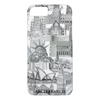 Layer iPhone 7 Mural Arch Search iPhone 7 Case