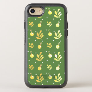Layer Iphone 8 Green with yellow small balls