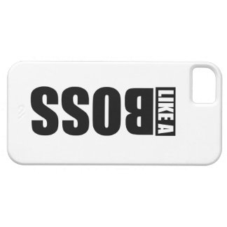 "Layer ""LIKE the BOSS"" for IPhone 5 iPhone 5 Cover"