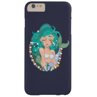 Layer Mermaid Turquoise Barely There iPhone 6 Plus Case