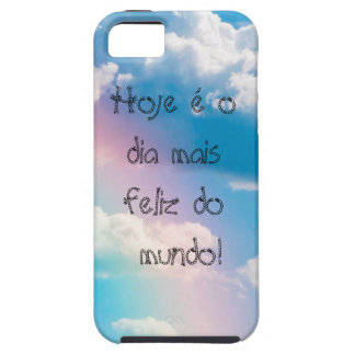 Layer of cellular Iphone5 5s Sky with rainbow iPhone 5 Cover