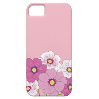 Layer of cellular rose with flowers iPhone 5 case