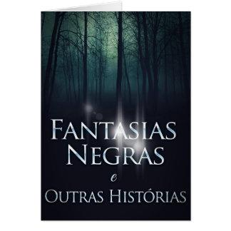 """Layer of the book """"Black Fancies"""" of Joel Puga Card"""