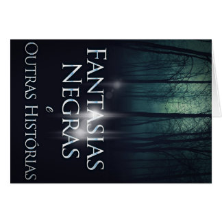 """Layer of the book """"Black Fancies"""" of Joel Puga Greeting Card"""