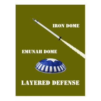Layered Defense Post Card