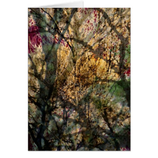 Layered Forest Greeting Card