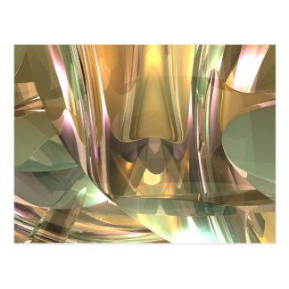 Layered Glass Postcard