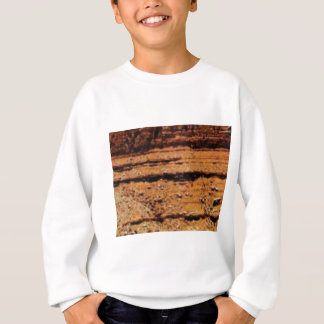 layered gravel wall sweatshirt
