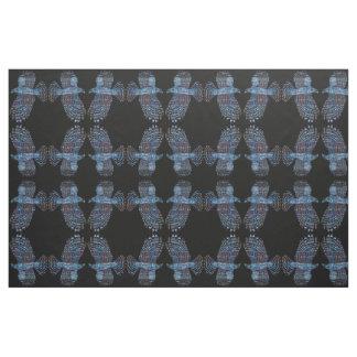 Layered Hawks Nature Pattern Fabric