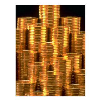 Layered loonies post card