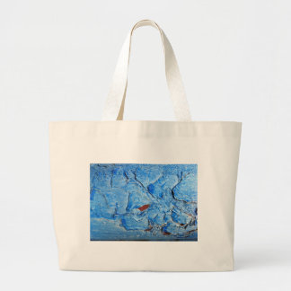 Layered paint effect aged naturally by the Sun. Tote Bags