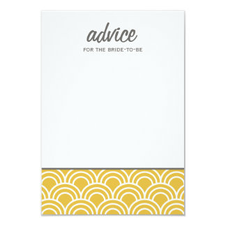 Layered Scallops 9 Cm X 13 Cm Invitation Card