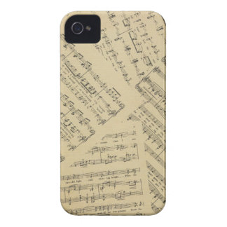 Layered Sheet Music Case-Mate iPhone 4 Case