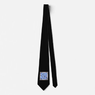 layered stone blue (I) Tie