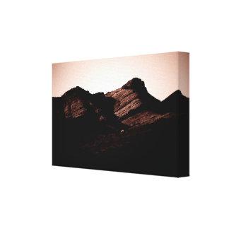 Layerings Canvas Print