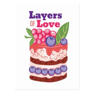 Layers Of Love Postcard