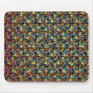 Layers of Shapes Pattern Mouse Pad