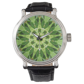 Layers of Succulent Leaves Watch