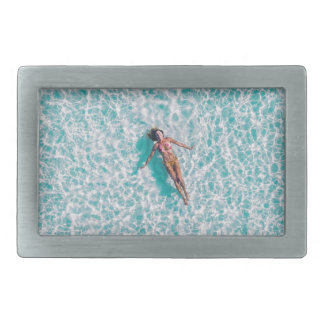 Laying in the sea Gift Belt Buckle