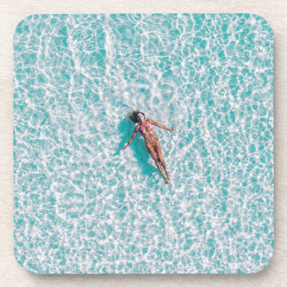 Laying in the sea Gift Coaster